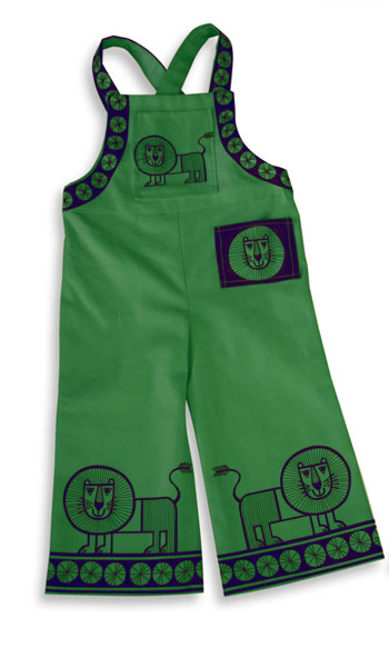 green-dungarees