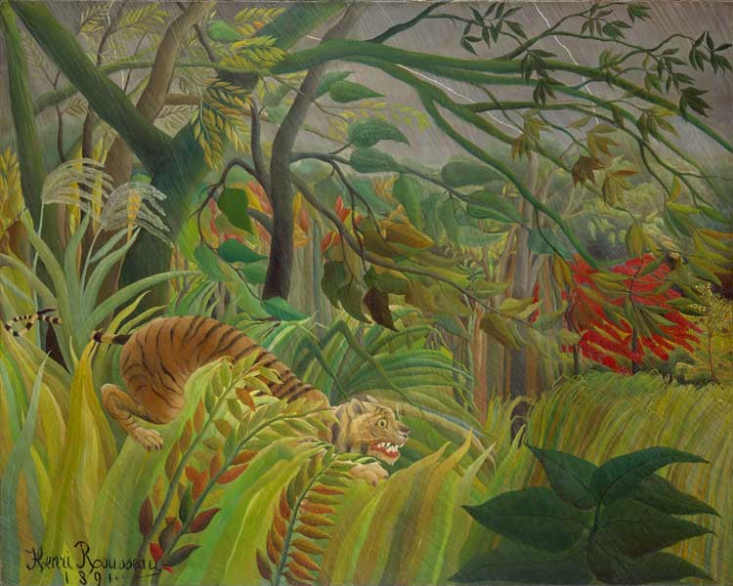 Henri Rousseau - Surprised