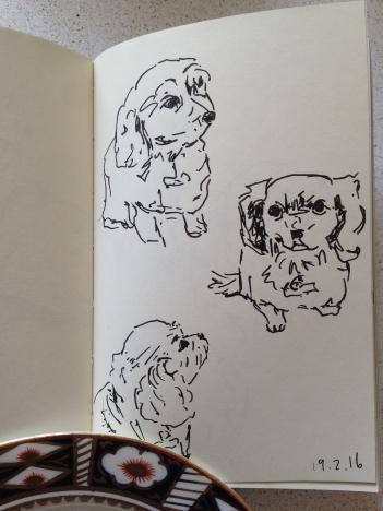 Alfie sketches
