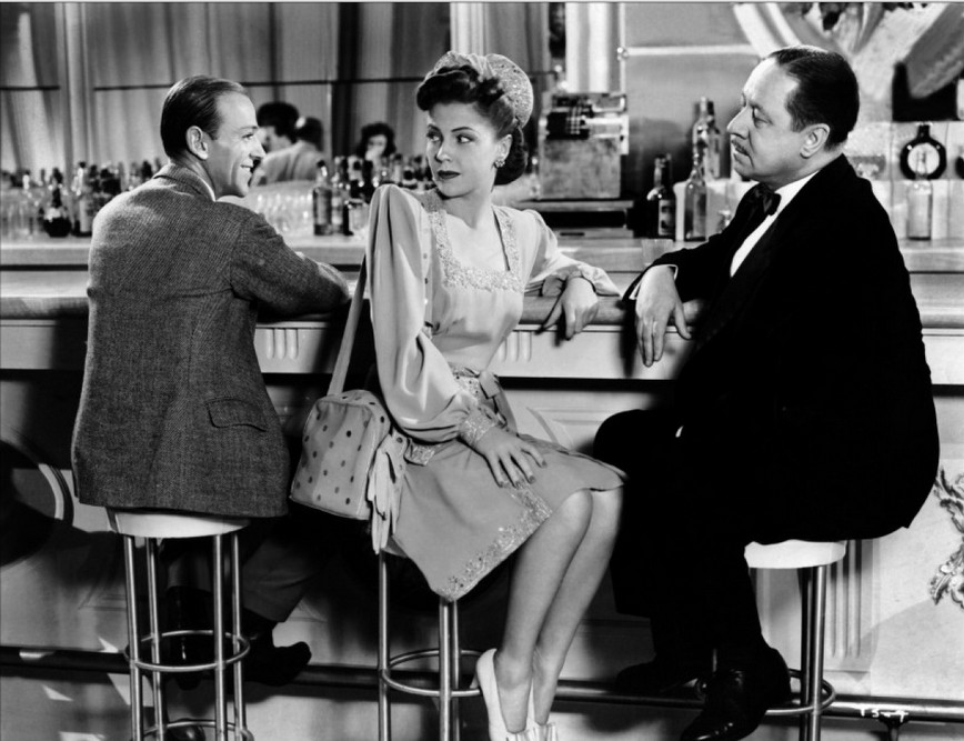Joan-Leslie-with-Fred-Astaire-and-Robert-Benchley-in-The-Skys-the-Limit-1946